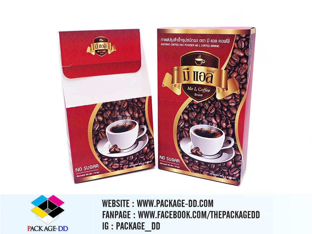 รับผลิตกล่องสินค้าอื่น ๆ รับผลิตกล่องกาแฟ มีเเอล3
