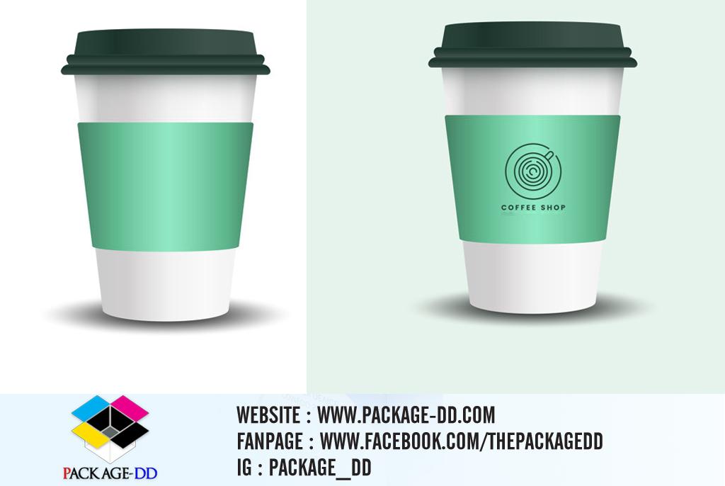 รับทำสายคาดแก้วกาแฟ สายคาดกล่องสินค้า