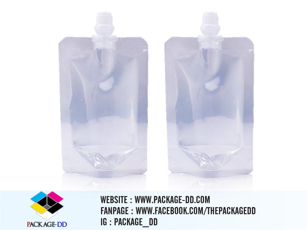 ถุงใส รับผลิตถุงพลาสติกใส 50 ml