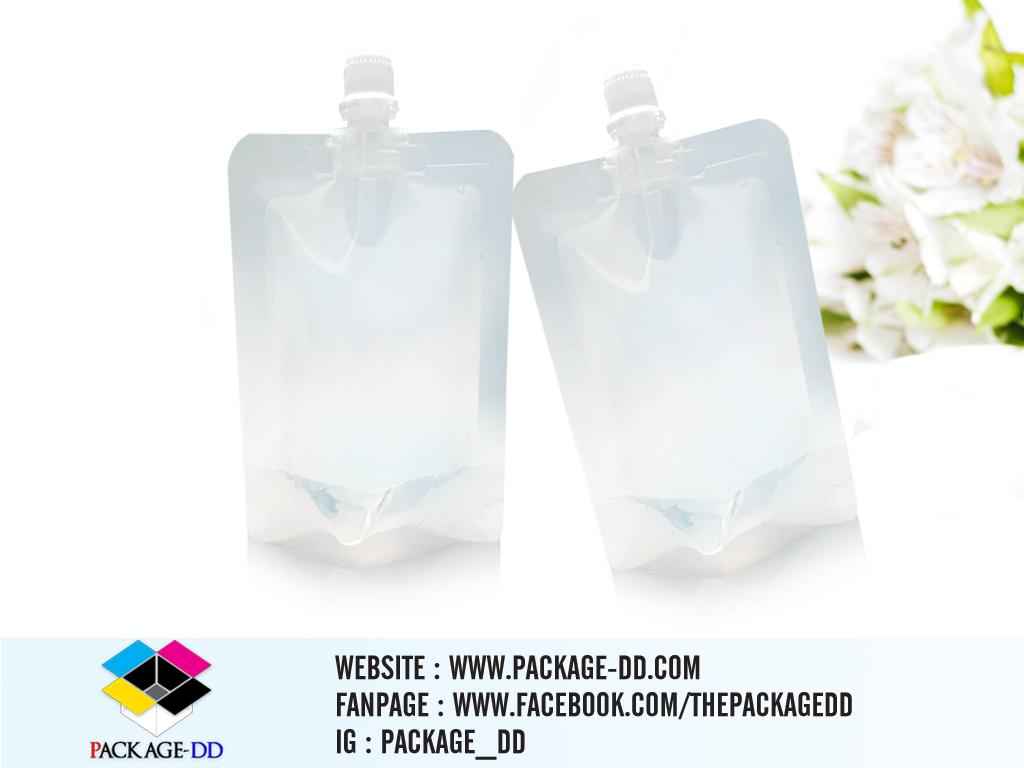 รับผลิตถุงพลาสติกใส 50 ml